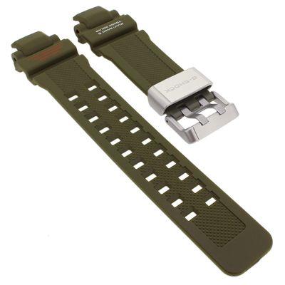 Casio G-Shock Ersatzband | Uhrenarmband Resin grün GW-A1100KH – Bild 1