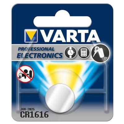 Varta ► Ersatzbatterie CR1616 ► Batterie Lithium 3V ► Knopfzelle 34285 – Bild 1