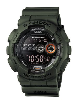 Casio G-Shock Herrenuhr GD-100 | digital ► mit Super-Auto LED Light – Bild 1