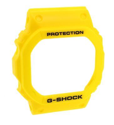 Casio Bezel   Ersatzteil Lünette Resin gelb für G-Shock DW-5600P – Bild 1
