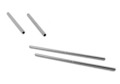 Minott 2x Bandstifte Uhrenstifte mit Hülsen Ersatzstifte Ø 1mm > 34754