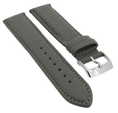 Barington Imperator Uhrenarmband Rindleder grau wasserabweisend 34767 – Bild 1