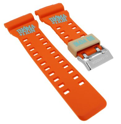 Casio Ersatzband | Uhrenarmband Resin orange G-Shock G-Lide GAX-100X – Bild 1