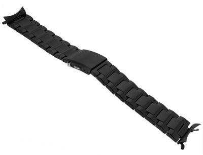 Citizen Eco Drive > Uhrenarmband 22mm Edelstahlband schwarz CA0645-52l – Bild 1