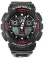 Herrenuhr analog-digital Casio G-Shock mit Textilband GA-100V-1A4ER 001