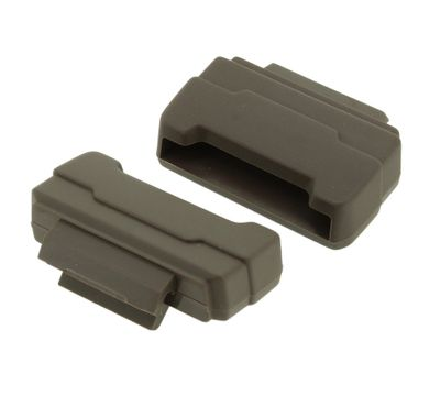Casio Resin-Anstoß | 2x Endlink Resin graubraun für GLS-5600CL-5ER – Bild 1