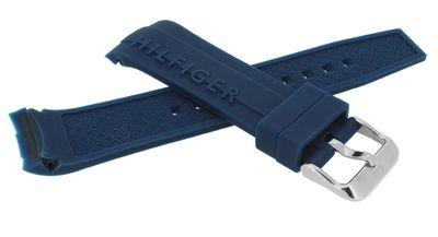 Tommy Hilfiger → Uhrenarmband Silikon 679302062 blau → 1791349 – Bild 2