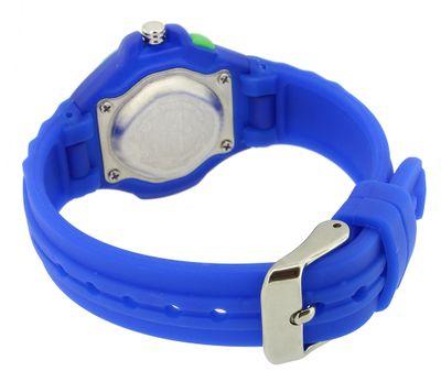 Alpha Saphir 393E > Kinderuhr Silikon analog Kunststoff blau < 35036 – Bild 2