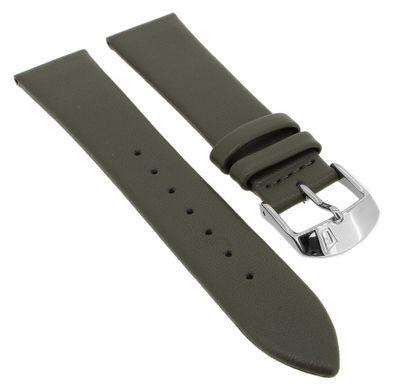 Festina > Uhrenarmband 19mm grau Leder Schließe silberfarben > F20371 – Bild 1