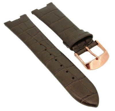Lotus Multifunktion Uhrenarmband Leder braun Krokooptik 18100 18100/2  – Bild 1