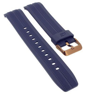 Casio Edifice Chronograph Uhrenarmband Kunststoff blau > EFR-556PC-2AV – Bild 1