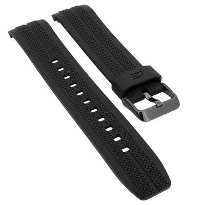 Casio Edifice Chronograph Uhrenarmband Kunststoff schwarz | EFR-556PB – Bild 1