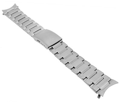 Casio Edifice Chrono ► Uhrenarmband 22mm Edelstahl silbern ► EFR-558DB – Bild 1