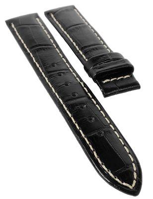 Jaguar > Uhrenarmband 17mm Leder Krokoprägung schwarz > J624/5 > J624 – Bild 1