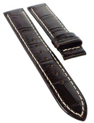 Jaguar → Uhrenarmband 17mm braun → Leder Krokoprägung → J624/4 → J624 – Bild 1