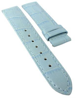 Jaguar > Uhrenarmband 17mm > Krokoprägung Leder blau > J624/2 > J624 – Bild 1