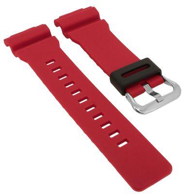 Casio G- Shock ⇒ Uhrenarmband rot Kunststoff ⇒ GA-800-4A ⇒ GA-800 – Bild 1