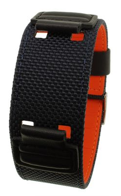 Casio G-Shock Uhrenarmband Unterlageband Textil blau AW-591MS AW-591 – Bild 1