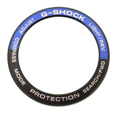 Casio G-Shock Bezel > Edelstahl Lünette schwarz / blau > GN-1000-9A