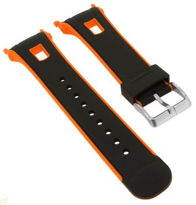 Calypso > Uhrenarmband schwarz Spezial Anstoß Kunststoff K5610/7 K5610 – Bild 1