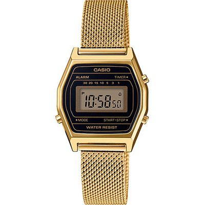 Casio Collection Retro Klassiker Uhr Digital Edelstahl LA690WEMY-1EF – Bild 1