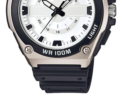 Casio Collection Analog  Herrenuhr Resin mit LED Light MWC-100H-7AVEF – Bild 3