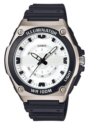 Casio Collection Analog  Herrenuhr Resin mit LED Light MWC-100H-7AVEF – Bild 1