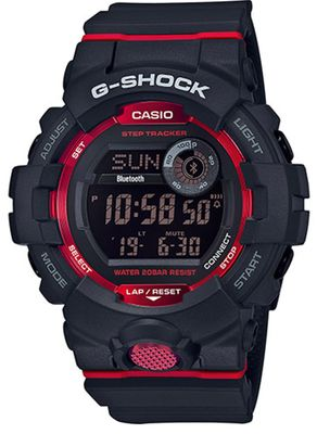 Casio G-Shock SQUAD Herrenuhr | Digitaluhr Bluetooth Smart GBD-800-1ER