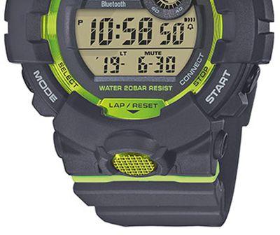 Casio G-Shock SQUAD Herrenuhr   Digitaluhr Bluetooth Smart GBD-800-8ER – Bild 3
