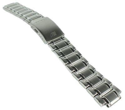 Casio Edifice Uhrenarmband 22mm Ersatzband Edelstahl silbern ⇒ EQS-600 – Bild 2