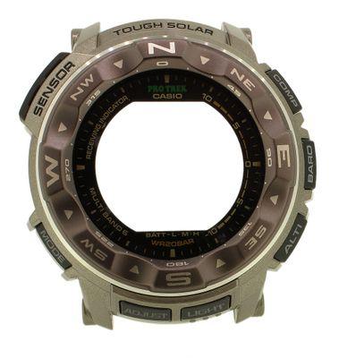 Casio Pro Trek ► Gehäuse CASE/CENTER ASSY Resin braun ► PRW-2500T-7ER – Bild 1