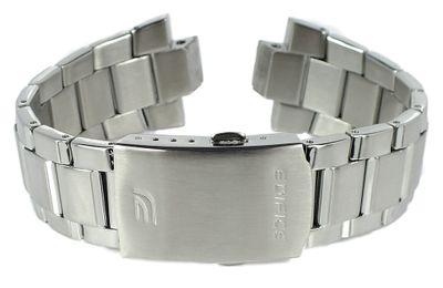 Casio Edifice Uhrenarmband Ersatzband Edelstahl silbern ⇒ EF-332D-1AV – Bild 1