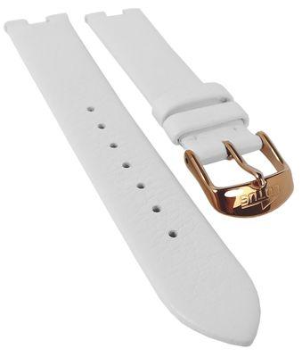 Lotus Watches ► Uhrenarmband 18mm weiß Leder ► 15900 15901 15901/1 – Bild 1