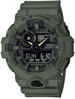 Casio G-Shock Herrenuhr | Digitaluhr mit Super-Illuminator GA-700UC-3AER – Bild 1
