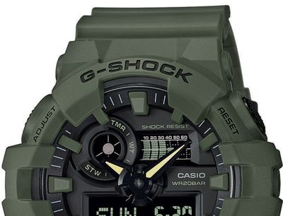 Casio G-Shock Herrenuhr | Digitaluhr mit Super-Illuminator GA-700UC-3AER – Bild 2