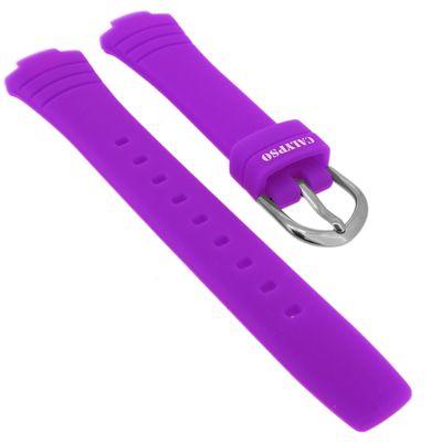 Calypso → Uhrenarmband Kautschuk pink Spezial Anstoß K5758 → K5758/3 – Bild 1