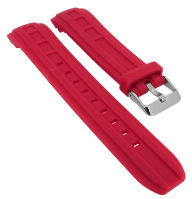 Calypso Uhrenarmband > K5760 rot > Kautschuk Spezial Anstoß > K5760/3 – Bild 1