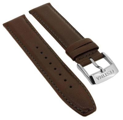 Festina Automatic Uhrenarmband 21mm braun weiches Leder Naht ⇒ F16885  – Bild 1
