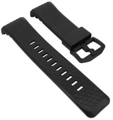Casio Pro-Trek Ersatzband | Uhrenarmband Resin schwarz WSD-F20A-BE – Bild 1
