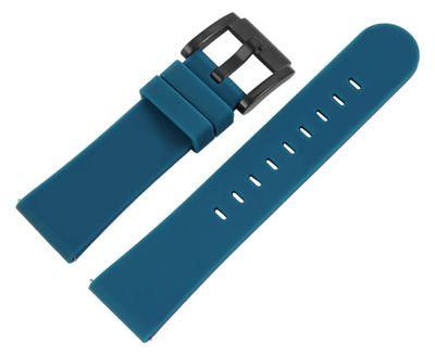 TW STEEL MC Edition | Uhrenarmband 22mm | Silikon blau | 8400022 – Bild 1