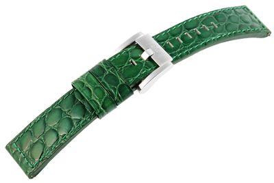 TW STEEL MC Edition | Uhrenarmband 22mm | Leder dunkelgrün | 8400030 – Bild 2