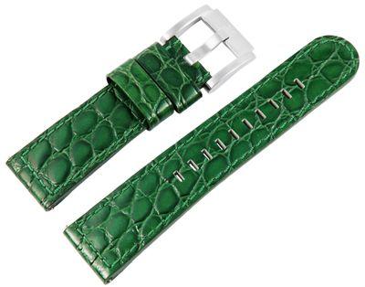 TW STEEL MC Edition | Uhrenarmband 22mm | Leder dunkelgrün | 8400030 – Bild 1