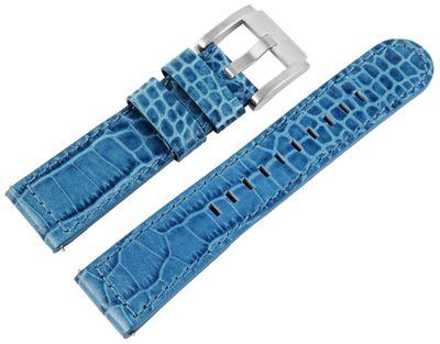 TW STEEL MC Edition   Uhrenarmband 22mm   Leder blau   8400032 – Bild 1