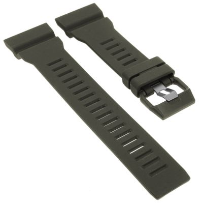 Casio Ersatzband   Uhrenarmband Resin grau G-Shock für GBA-800-8AER  – Bild 1