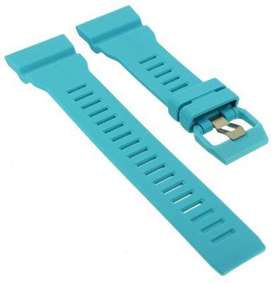 Casio Ersatzband | Uhrenarmband Resin türkis G-Shock für  GBA-800-2A2ER  – Bild 1