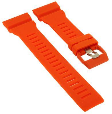 Casio Ersatzband | Uhrenarmband Resin orange G-Shock für GBA-800-4AER  – Bild 1