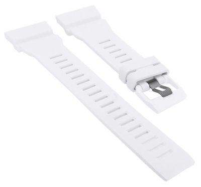 Casio Ersatzband | Uhrenarmband Resin weiß G-Shock für GBA-800-7AER – Bild 1