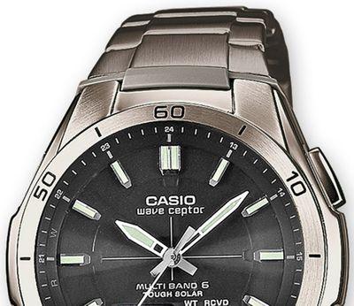 Casio Wave Ceptor | Funkuhr Solar Herren aus Titan WVA-M640TD-1AER – Bild 3