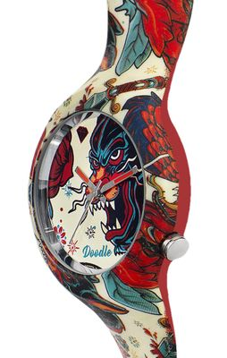 DOODLE WATCH  ░  Armbanduhr Ø 39mm | PANTHER OLD SCHOOL > DOTA001 – Bild 2