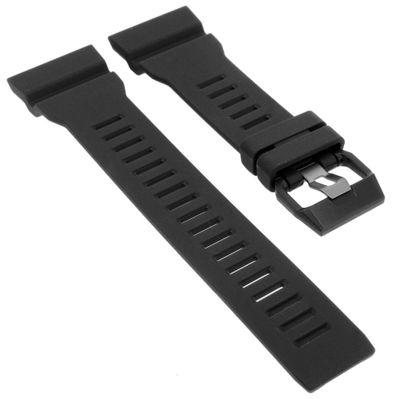 Casio Ersatzband | Uhrenarmband Resin schwarz G-Shock für GBA-800-1AER  – Bild 1